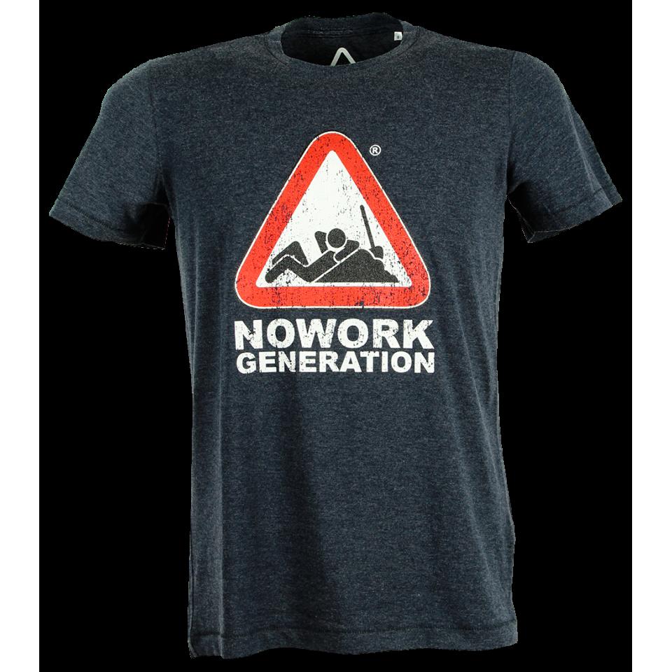 NOWORK GENERATION T-SHIRT NERA