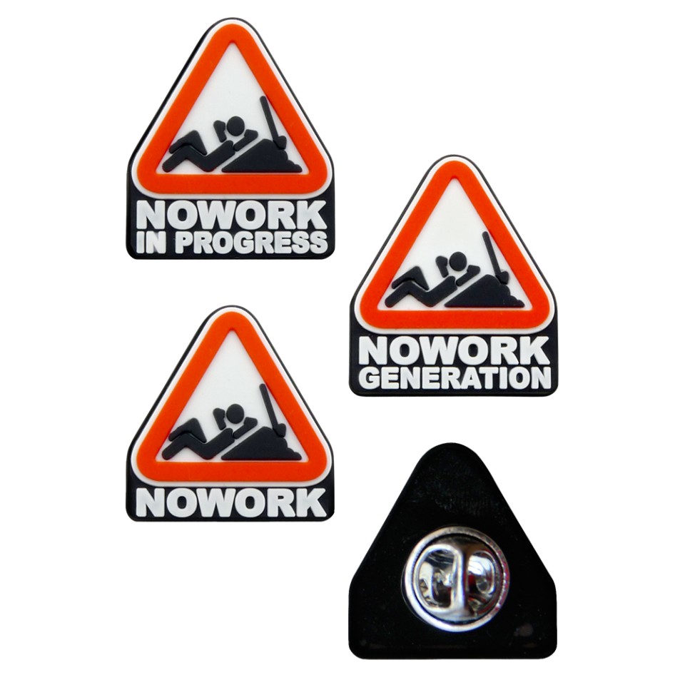 NOWORK PIN PACK